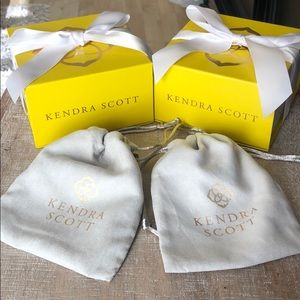 Kendra Scott Boxes and dust bags